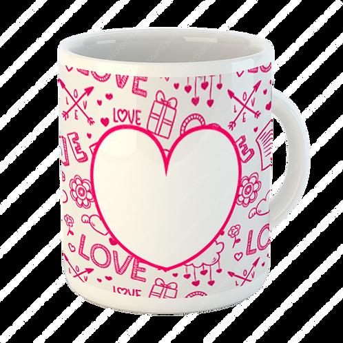 Taza Love Corazón