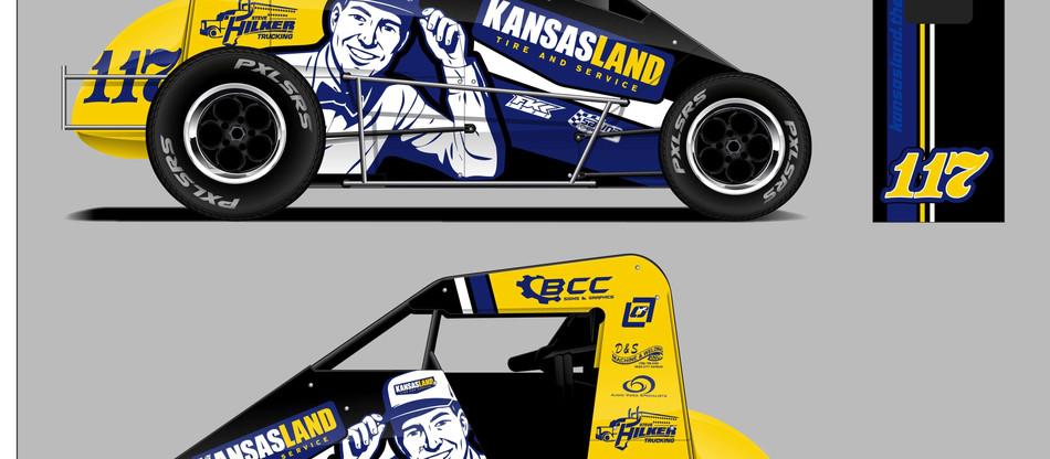 Ryan Ellis to race for Randy Washburn and Kansasland Tire at the Chili Bowl Nationals: