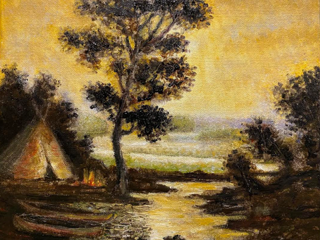 An Incredibly Brave and Tragic Figure - Blakelock, a Great American Painter