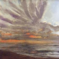 September Sunrise over the atlanic fom L