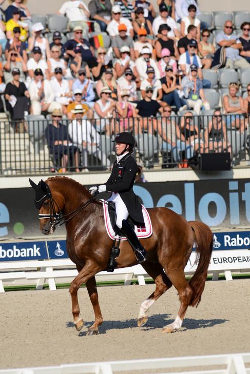 Rotterdam Europeanchampionship Cathrine Dufour