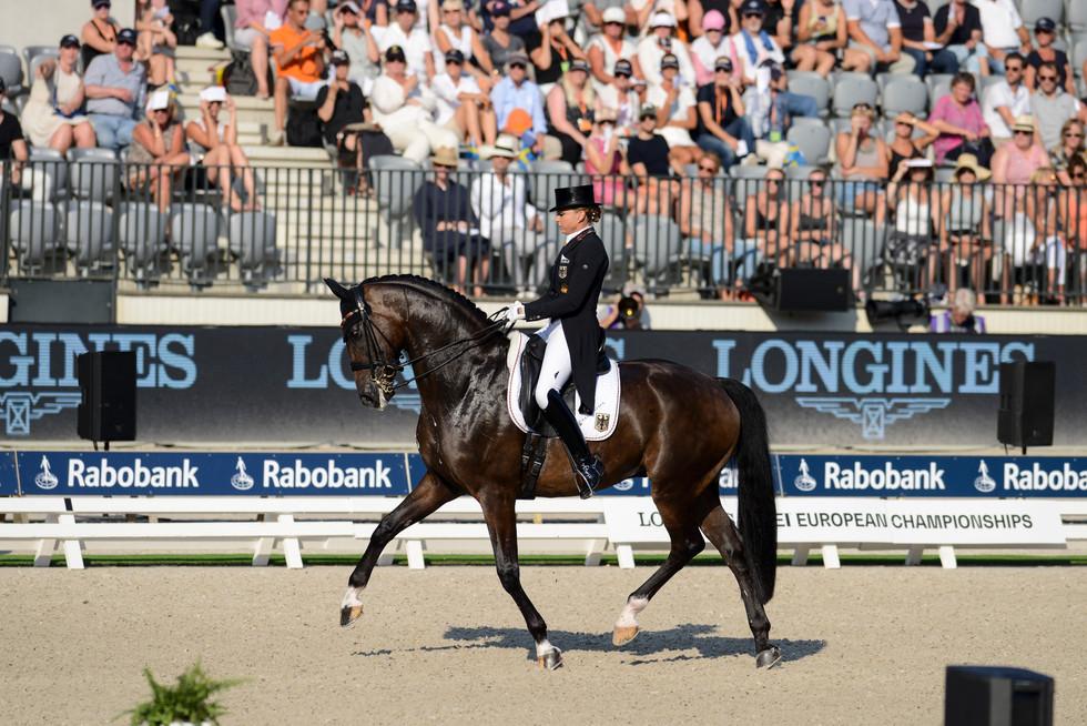 Rotterdam Europeanchampionship Dorothee Schneider