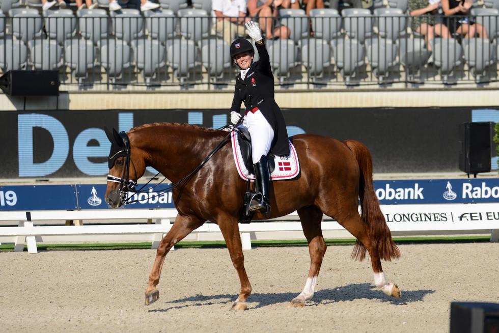 Cathrine Dufour Rotterdam Europeanchampionship