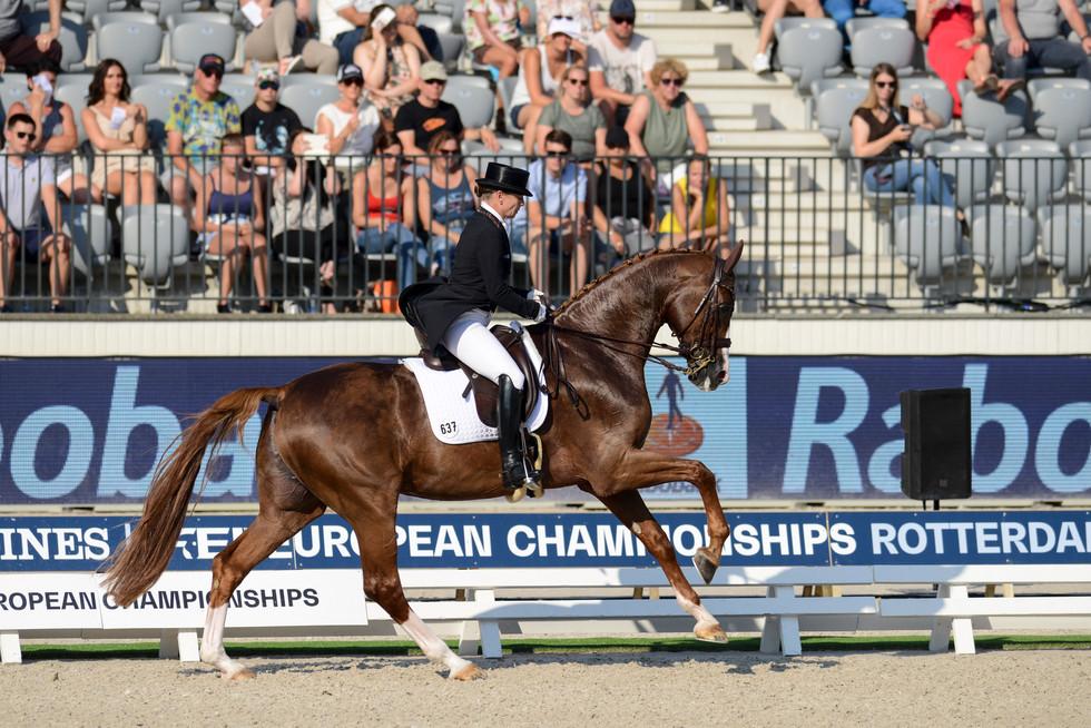 Rotterdam Europeanchampionship Isabell Werth