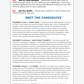 3/30/2020 UPDATE MEET THE CANDIDATES
