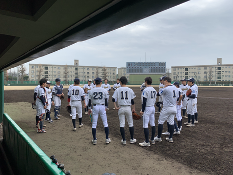 大学軟式野球 春のリーグ戦⚾️