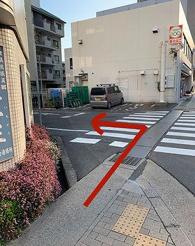 駅からの道順8