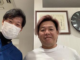 競輪選手の平田哲也 選手が来院❗️