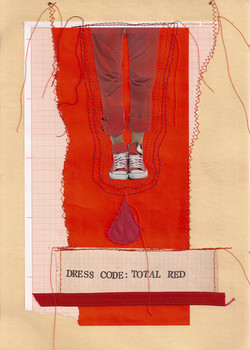DRESS CODE: TOTAL RED
