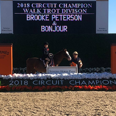 Circuit Champ - Brooke Peterson and Bonj
