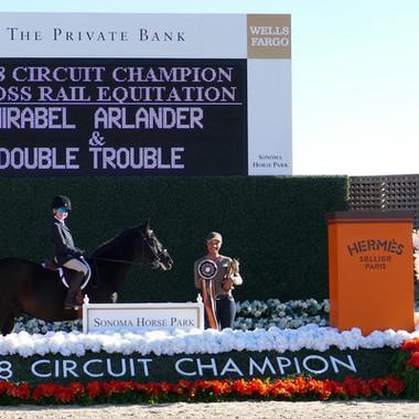 Mirabel Double Trouble Circuit Champion.