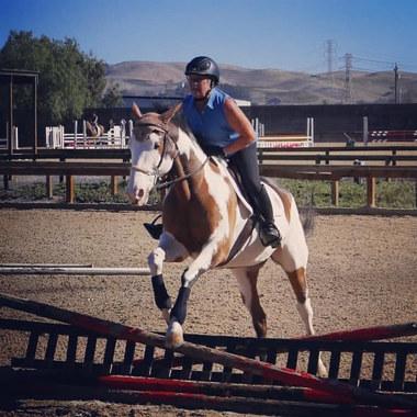 Solange jumping paint.jpg
