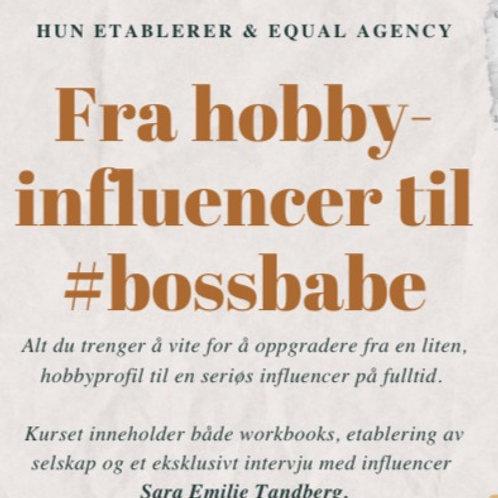 Nettkurs: Fra hobby-influencer til #bossbabe