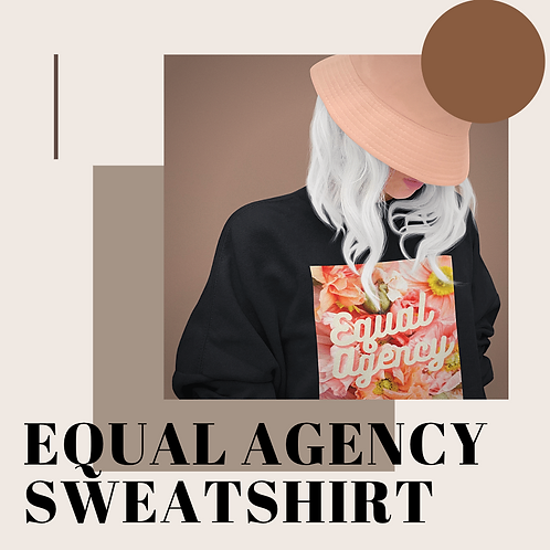 Equal Agency Heavy Blend™ Crewneck Sweatshirt