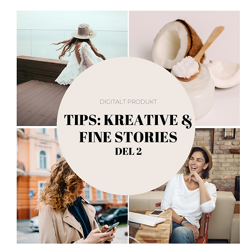 Tips: Kreative & fine stories del 2