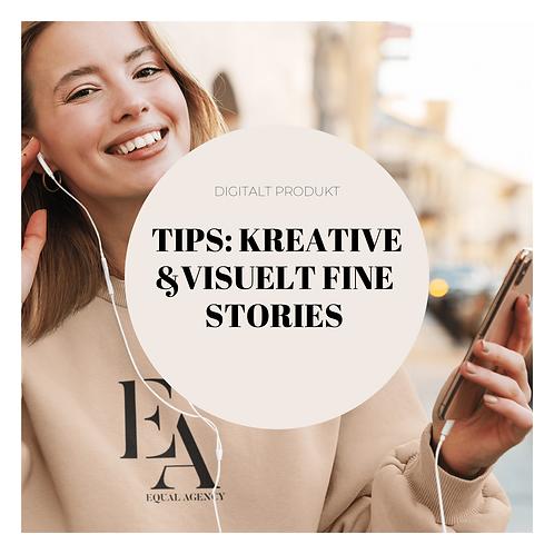 Tips: Kreative & fine stories del 1