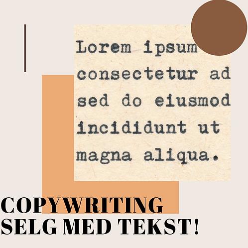 Copywriting for nettsider: forførende tekst som selger