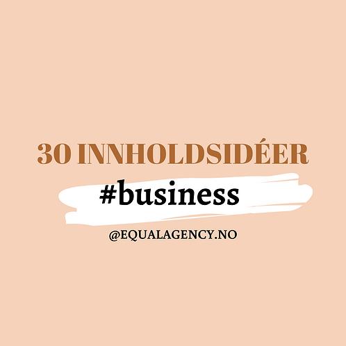 30 Innholdstips #business