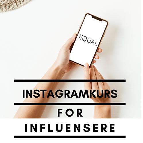 Nettkurs: Instagram for influensere