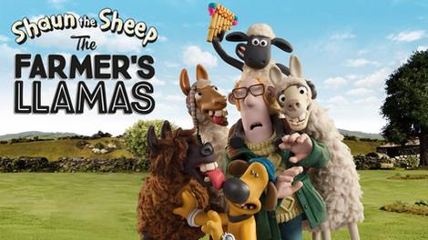 Shaun the Sheep: The Farmer's Llams