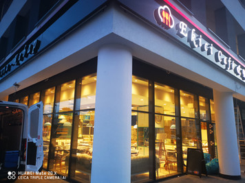 Pizzeria, Restaurant, Werbung Werbeschilder 3D Buchstaben Reklame Darmstadt,Hanau, Frankfurt