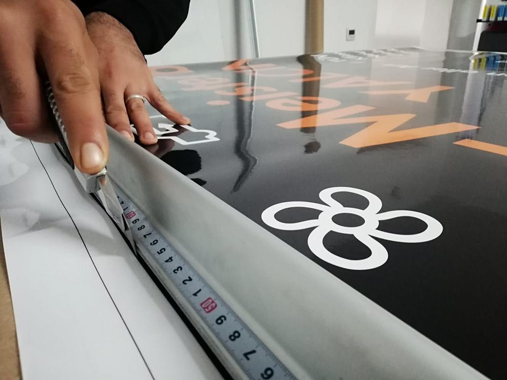 Digitaldruck - Werbeschilder