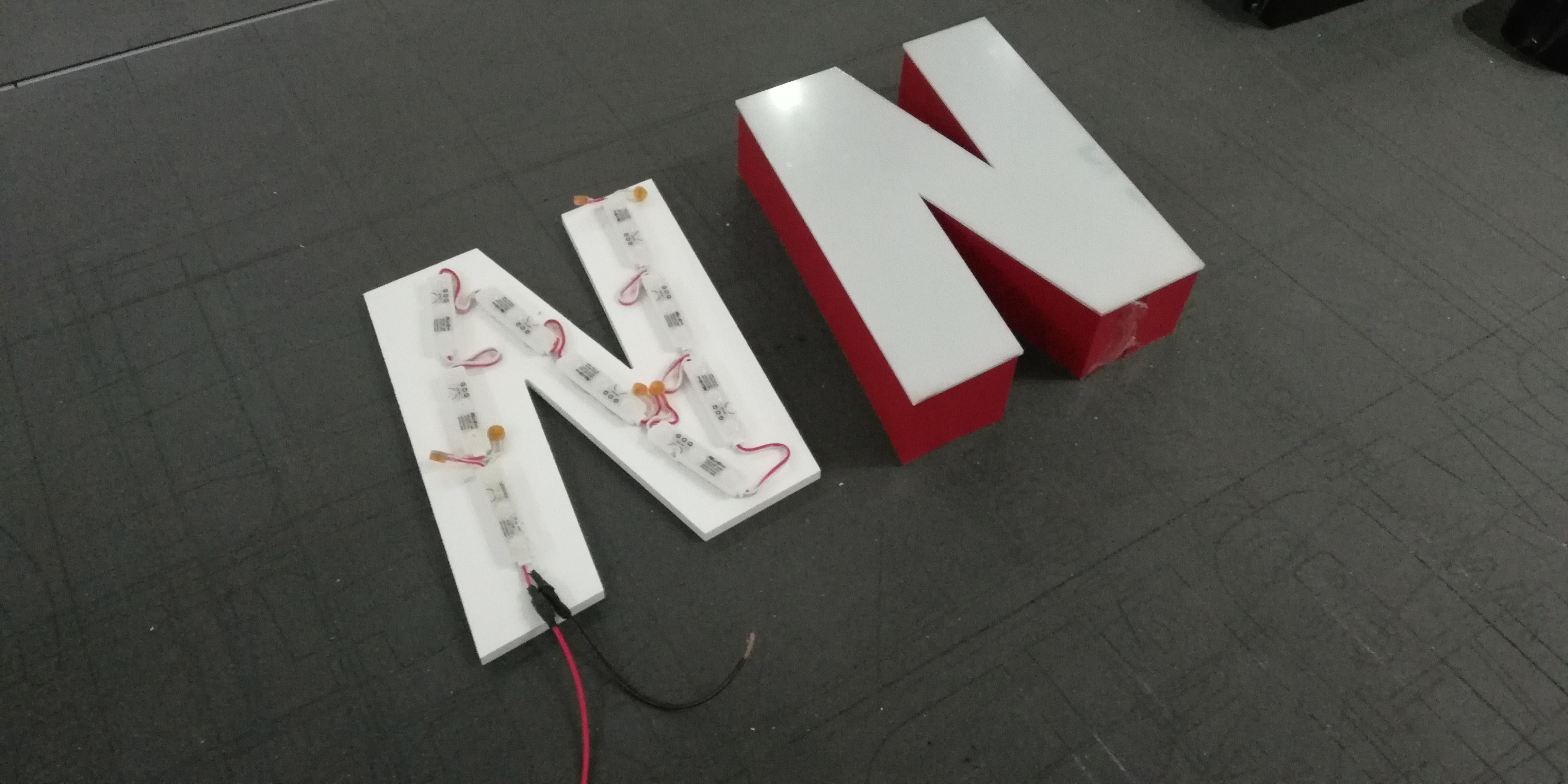 3d Led Buchstaben (1)