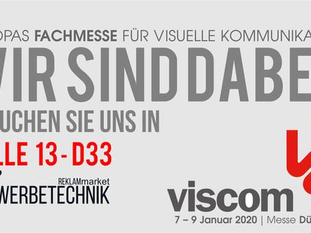 Werbetechnik Messe Viscom 2020 Düsseldorf