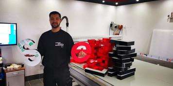 3D Buchstaben für Wiederverkäufer