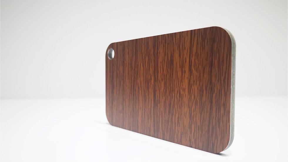 Aluverbundplatte 4mm Aluminium-Verbundplatte - Holzoptik-Dark Walnut-320x125 cm