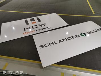 Koblenz Neuwied Firmenschilder, Praxisschilder, Hinweisschilder, Bauschilder,Firmenschilder