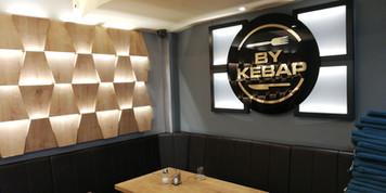 Frankfurt Werbetechnik Restaurant, Werbung Werbeschilder 3D Buchstaben  Reklame