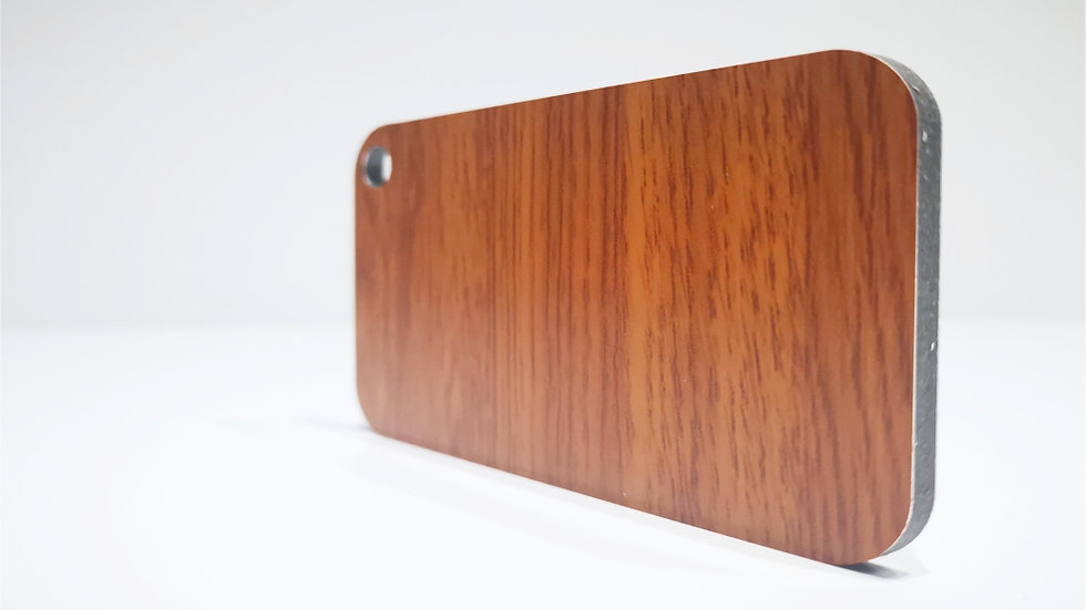 Aluverbundplatte 4mm Aluminium-Verbundplatte-Holzoptik-Light Walnut-320x125cm