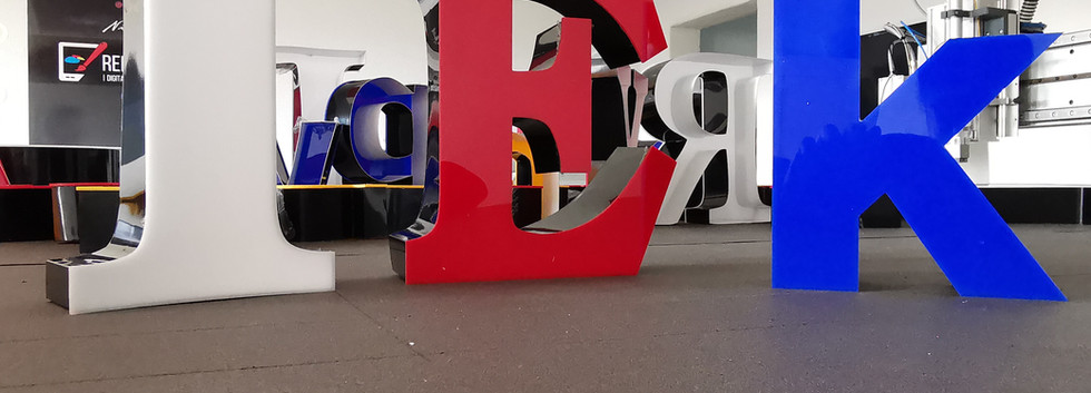 3d Buchstaben Hersteller