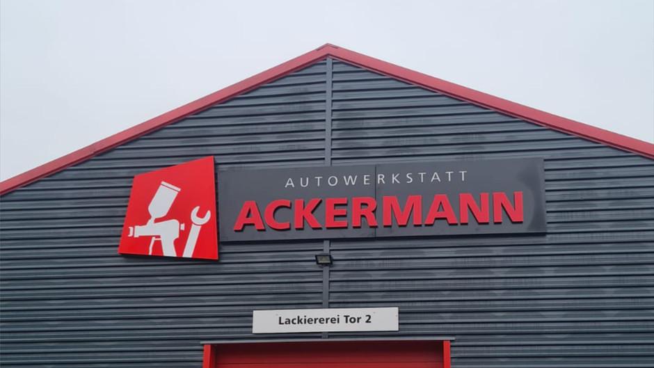 3D Buchstaben - Autohaus- Lichtwerbung - Außenwerbung - Leuchtwerbung