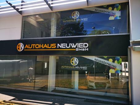 AN-Autohaus 3D  BUCHSTABEN - Autohändler Werbung