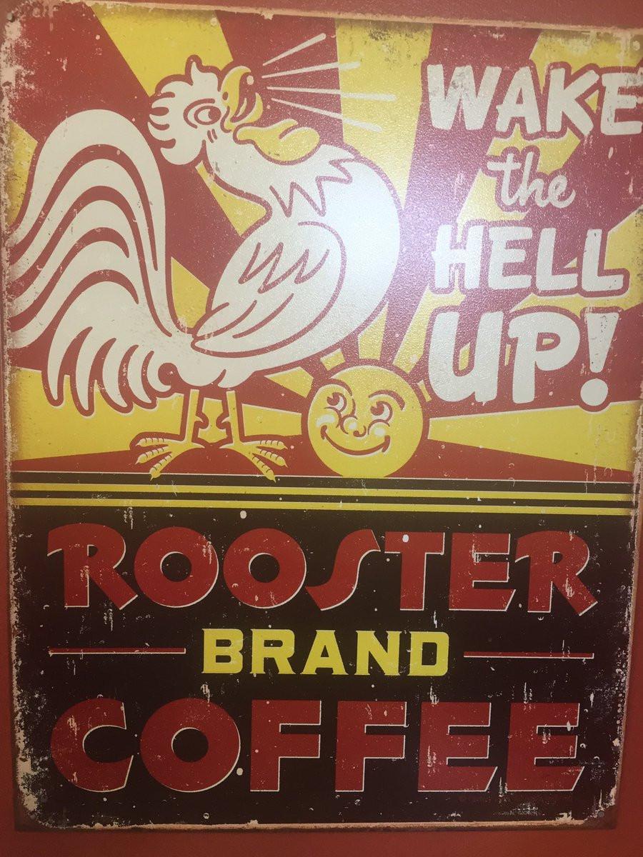 """Кофе Red Rooster: """"Проснись, черт возьми!"""""""