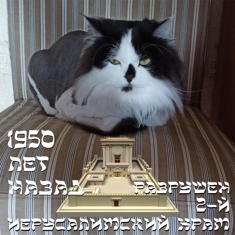10 августа 2020 г. 1950 лет назад разрушен Второй Иерусалимский Храм