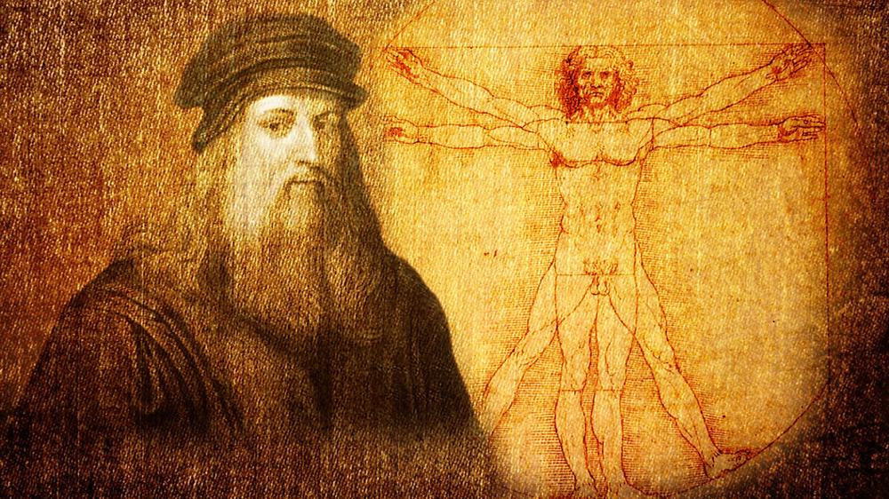 Леонардо да Винчи - левша, художник, скульптор, архитектор, строитель, дизайнер, прозаик, поэт, музыкант, философ, баснописец,  искусствовед, учёный-естествоиспытатель, анатом, ботаник, зоолог
