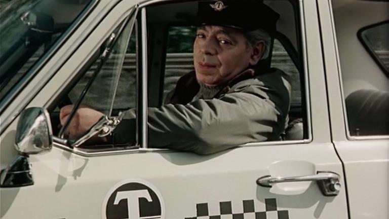 """Таксист Егоров (Аркадий Райкин). Просто таксист (ТФ """"Люди и манекены""""  1975 г.)"""