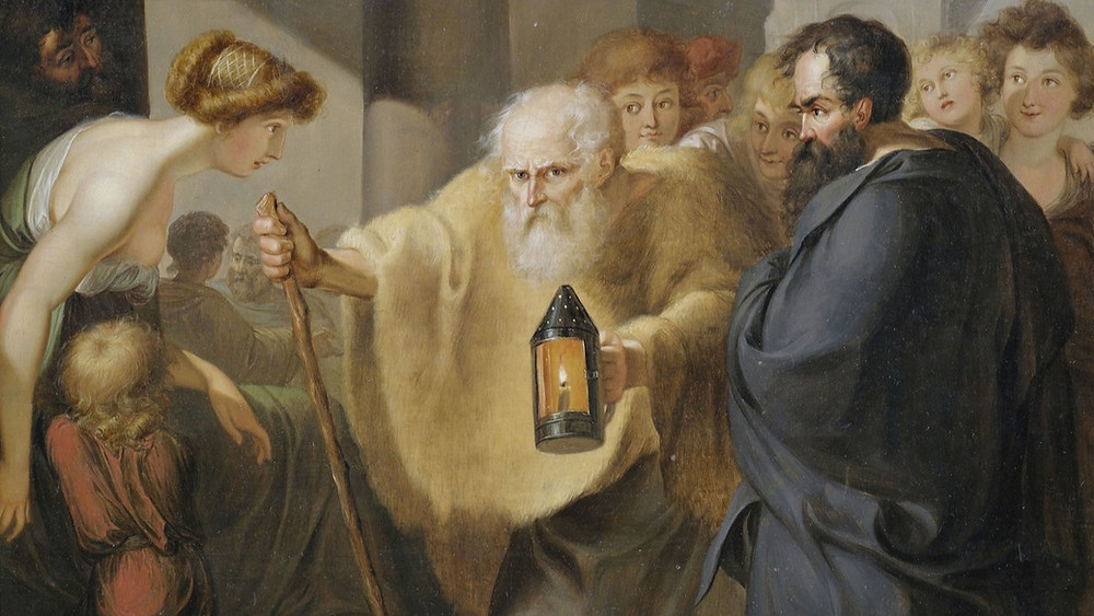 «Диоген искал человека» — Иоганн Генрих Вильгельм Тишбейн, около 1780
