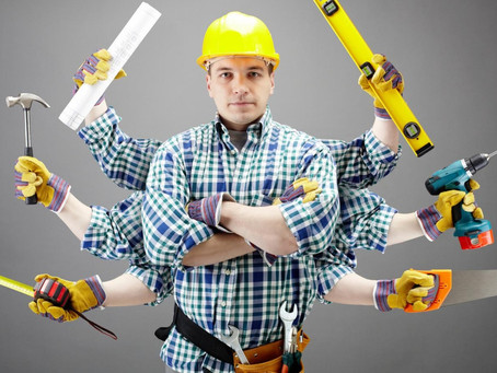 Наш ответ / Как называется профессия работающего? См. описание ниже.