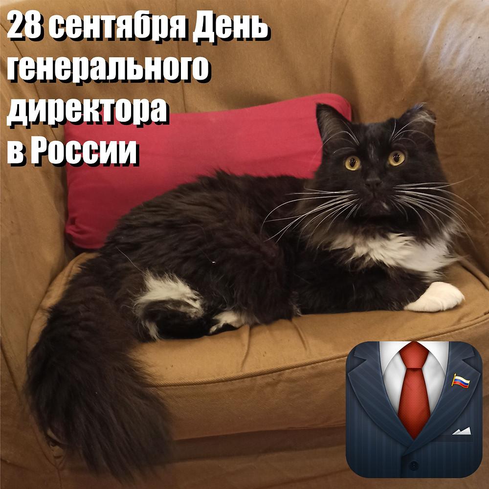 28 сентября 2020 г. День генерального директора в России