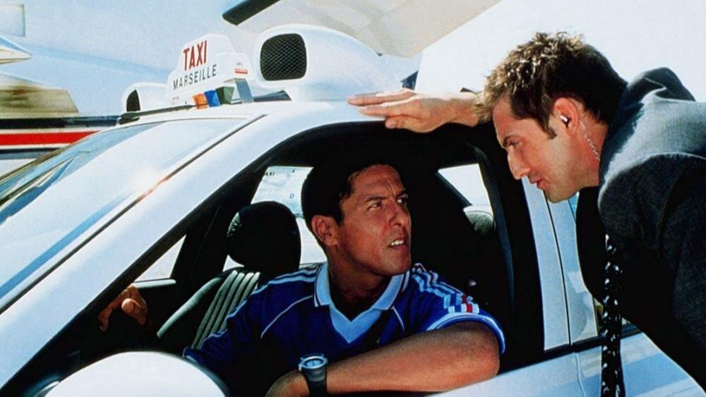 """Даниэль Моралес (Сами Насери) ихневый таксист (ХФ """"Такси"""" 1998 г.)"""