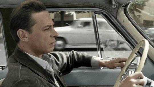 """Саша (Олег Ефремов), водитель такси (ХФ """"Три тополя на Плющихе"""" 1967 г.)"""