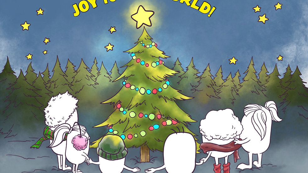 Joy to the World, Set of 10 Cards with Envelopes