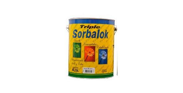 SORBALOK - TRIPLE GRIS CLARO 4L