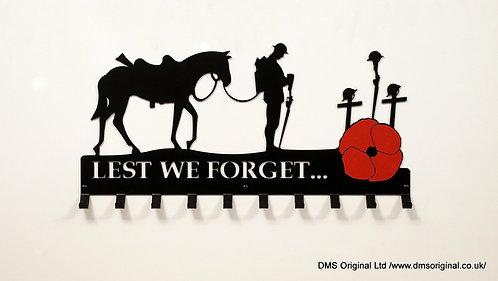 ' Lest We Forget... ' Keys, clothes hanger
