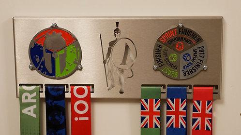 Medal hanger for double trifecta