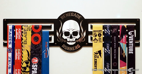 Renegade Runners - medal hanger